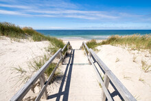 Dune Beach Along The North Sea Coast, Sylt, Schleswig-Holstein, Germany