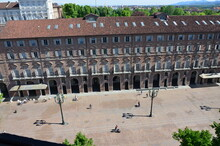 The Old Archecture Of Turin, Panorama, Italy
