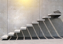 Stairs As Symbol Of Growth And Challenges