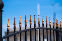 Metal Fashion Fence. Decorative Wrought Iron Fence