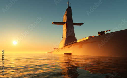 The military ship - fototapety na wymiar