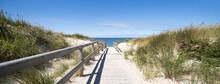 Path To The Dune Beach, North Sea Coast, Sylt, Schleswig-Holstein, Germany