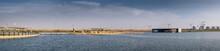 Israel`s Biggest Handmade Lake At Beer Sheva River Park. Israel