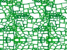 Crocodile Seamless Pattern.