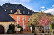 Altstadtszene Ahrweiler, Pfarrhaus am Marktplatz