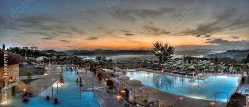 Fotografie, Obraz piscina termale