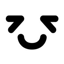 Tired But Happy Face Icon
