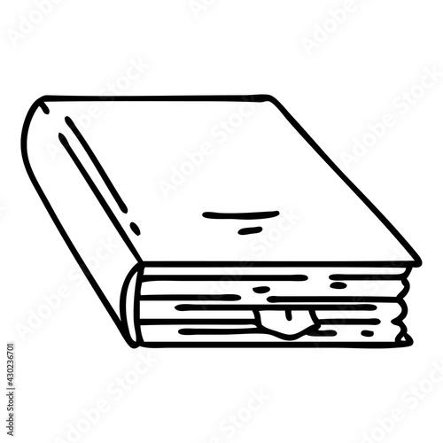 Fototapeta spooky spell book