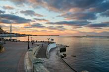 Sunset On The Sevastopol Bay