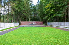 Mass Grave Of Soviet Soldiers On Moscow Mountain At The Memorial Complex Of The Victory In The Great Patriotic War Of 1941-1945, Zubtsov, Tver Region, Russian Federation, September 19, 2020