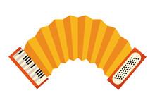 Accordion Instrument Icon