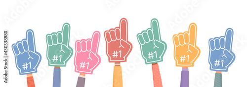 Tela Fan foam fingers