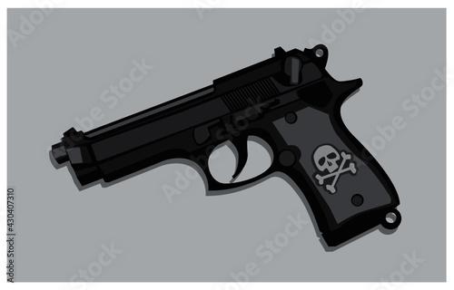 Beretta gun Fototapeta
