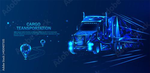 Obraz na plátně Truck