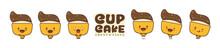 Cupcake Cartoon Character