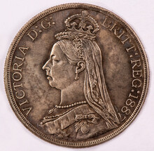 1887, The United Kingdom, Victoria, Collection Coin.