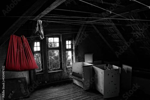 Opuszczony budynek - fototapety na wymiar