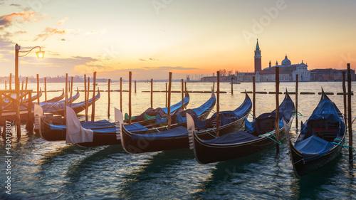 Fotografia Venice looking over to San Giorgio Maggiore from near St Mark's Square in Italy