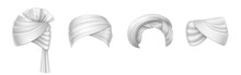 Turbans, Indian And Arab Headdress, Pagdi IILLUSTRATION