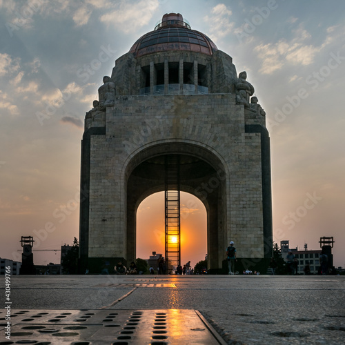 Canvas Print Monument to the revolution, México city
