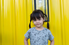 Portrait Photography Of A Cute Little Asian Girl