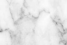 White Marble Texture Background Pattern With High Resolution.