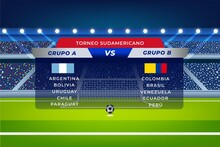 Gradient South American Football Groups Illustration_2