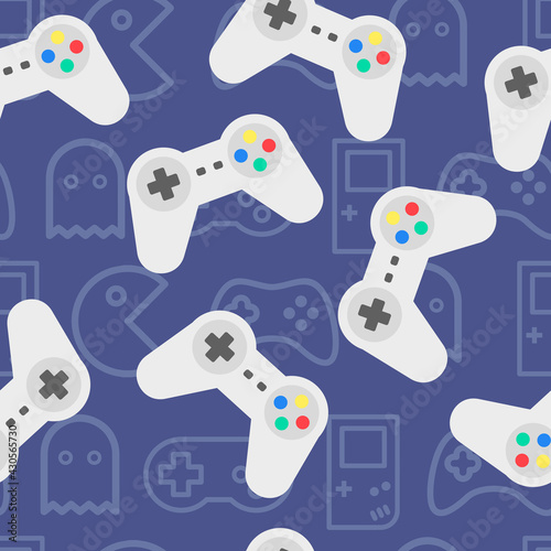 video-game-controller-seamless-pattern-joystick-vector-background-good-for-printing-devices-overlapping-background