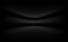Black Background Luxury , Texture Abstract With Waves, Soft Focus Black