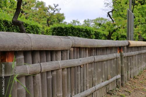 大阪城公園 大阪 日本 Fototapeta
