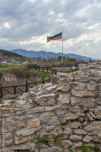 Ruins of Fortress Kaleto at town of Mezdra, Bulgaria