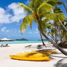Summer Vacation At A Beach Resort, Bora Bora, French Polynesia