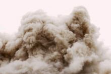 Building Demolition Aftermath By Controlled Implosion
