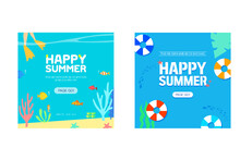 Summer Event Web Banner Collection