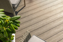Wpc Terrace. Wood Plastic Composite Decking Boards