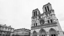 Notre-Dame De Paris Exterior, France
