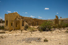 Ruins In Texas Ghost Town Terlingua