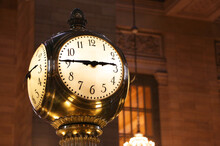 Grand Central Terminal Clock Close Up, New York City