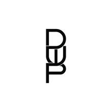 Dwp Letter Original Monogram Logo Design