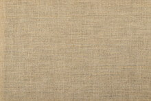 Simple Linen Background: Canvas Stretched Over The Frame, Close, Toning