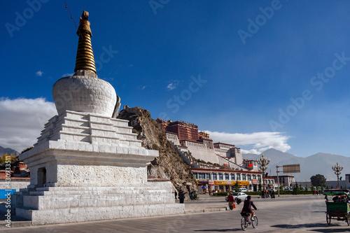 Photo The Potala Palace - Lhasa - Tibet