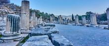 Ruins Of Ephesus In Turkey