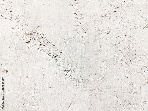 Fototapeta White old cement wall concrete backgrounds textured obraz