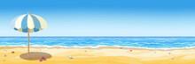 Beach Background Banner
