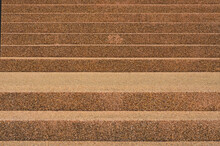 Beautiful Brown Rock Stairs Of The Building