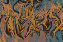 An Abstract Wavy Psychedelic Background Image.