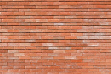 Brick Orange Wall Backround
