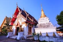 Sri Pan Ton Temple Or Wat Sri Pan Ton In Thai Language In Nan Province, Thailand