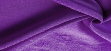 """Texture, Background, Design, Lilac Fabric, Twill. Thin Fabric With Diagonal Weaving Of Threads. From Latin And French, The Name Of The Material Is Translated As """"silk""""."""