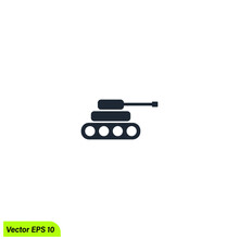 Tank Icon Symbol Design Element